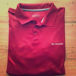 Columbia Polo- Red- Large